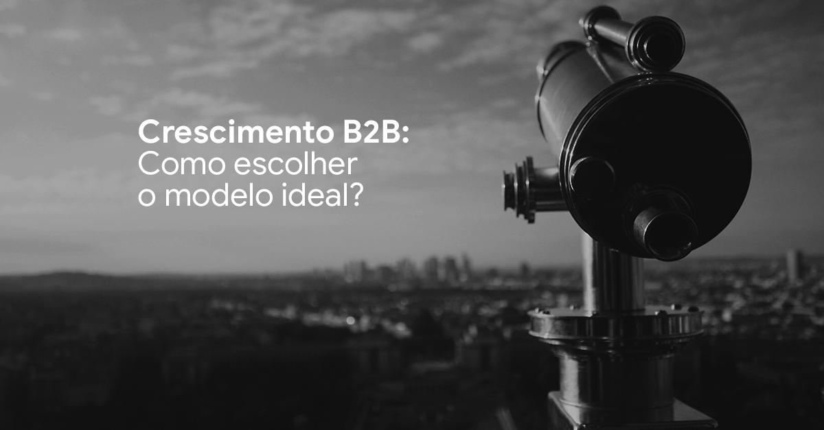 Crescimento B2B: como escolher o modelo ideal?